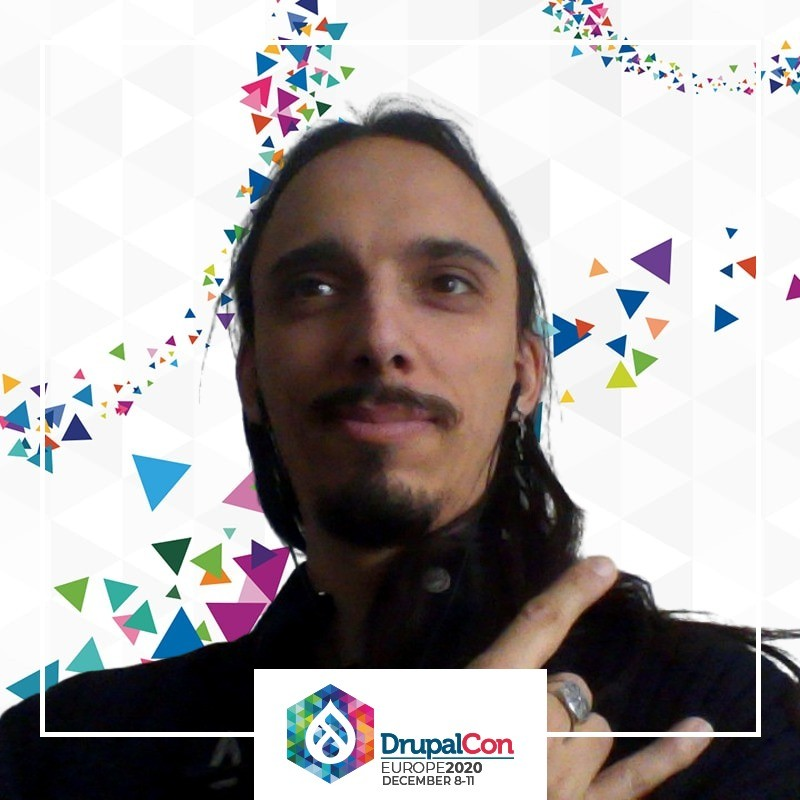 Photo of Nicoloye's selfie at Drupalcon Europe 2020